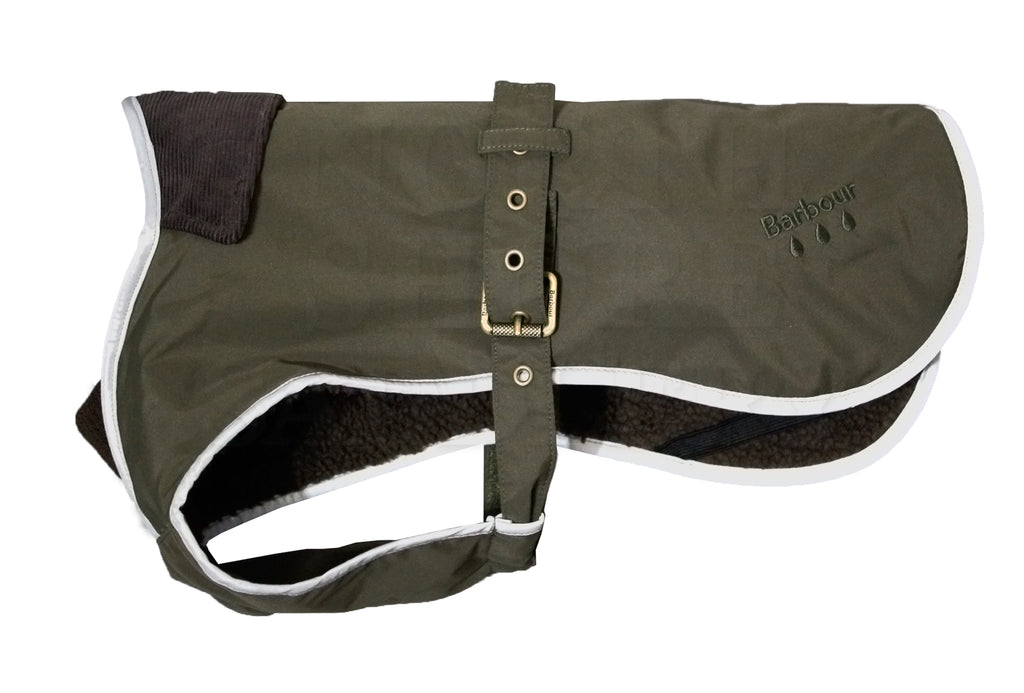 Barbour Weather Comfort Waterproof Fleece Lined Dog Coat