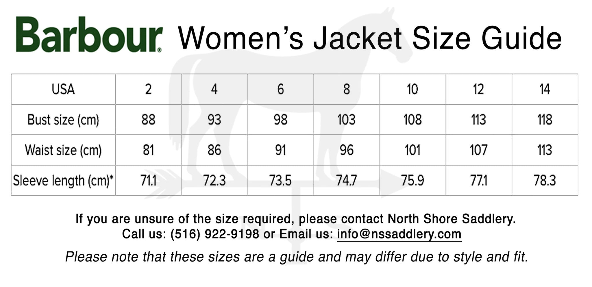 Does anybody know what Barbour jacket sizing/fit is like?