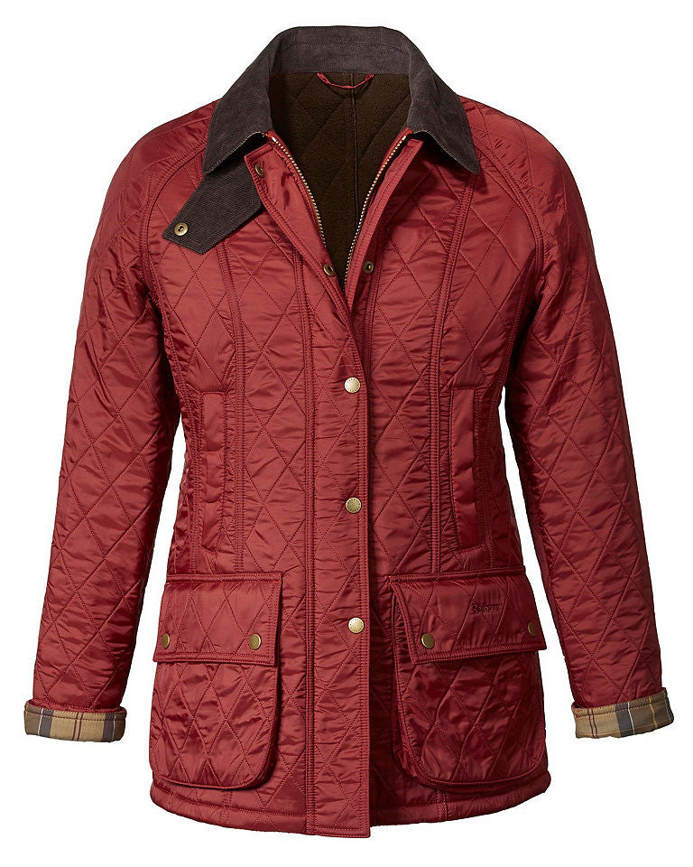 Barbour Beadnell Polarquilt Jacket - Terracotta - North Shore Saddlery