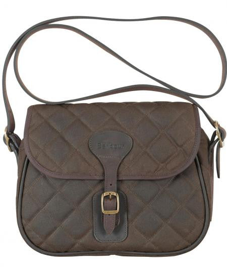 Barbour Beaufort Quilted Wax Cotton Shoulder Bag - SALE