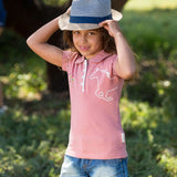 Horseware Girls Pique Polo Shirt - SALE - North Shore Saddlery