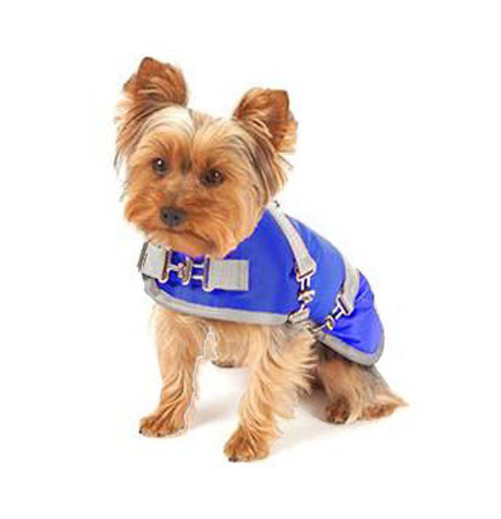 "Canine Styles ""horse-blanket"" Dog Coat"