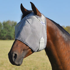 Cashel Crusader Fly Mask Standard Without Ears - North Shore Saddlery