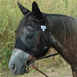 Cashel Quiet Ride Fly Mask Standard With Ears - North Shore Saddlery