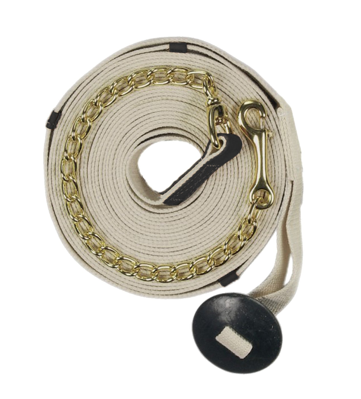 Centaur Cotton Web Lunge Line with Chain and Donut - North Shore Saddlery