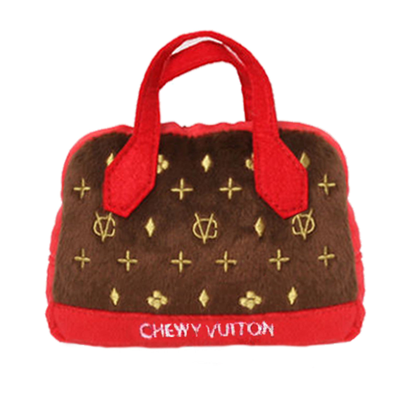 Chewy Vuiton Posh Purse Dog Toy - North Shore Saddlery