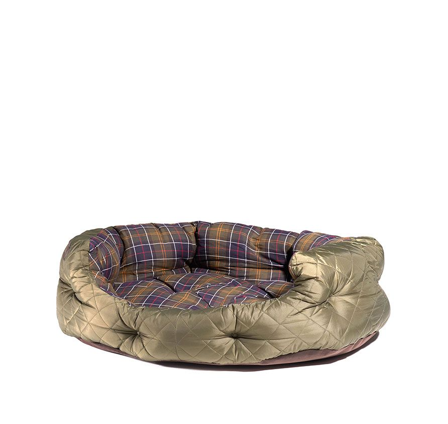 "Barbour Quilted Dog Bed - Extra Large 35"" - North Shore Saddlery"