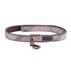 Barbour Reflective Tartan Dog Leash