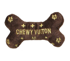 Chewy Vuiton Bone Dog Toy - North Shore Saddlery