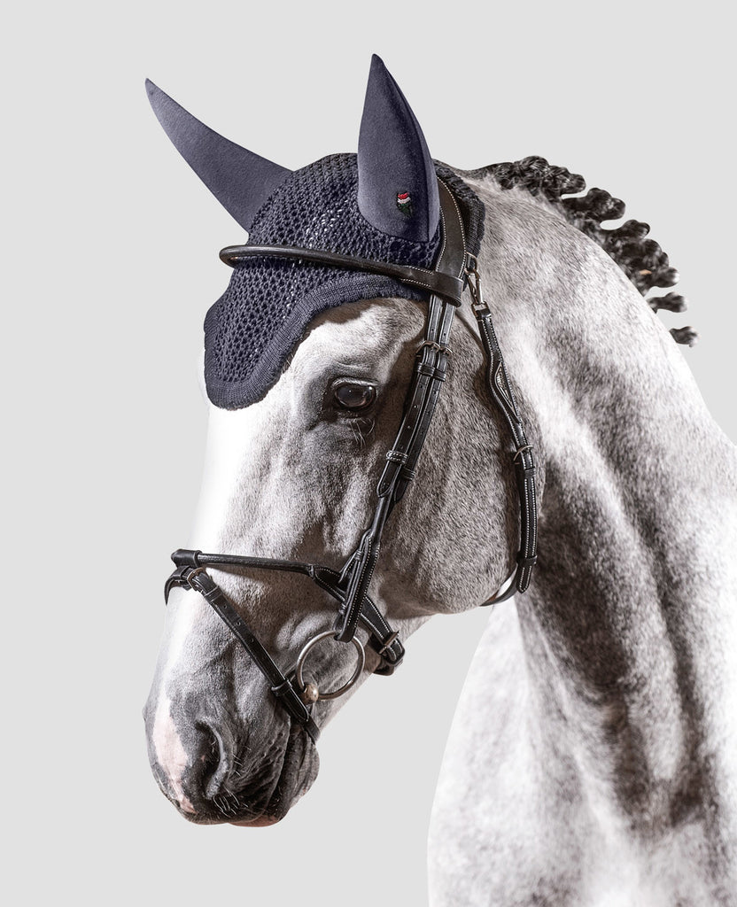 Equiline Gerald Soundless Ear Net Bonnet