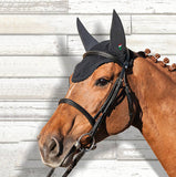 Equiline Gerald Soundless Ear Net Bonnet - North Shore Saddlery
