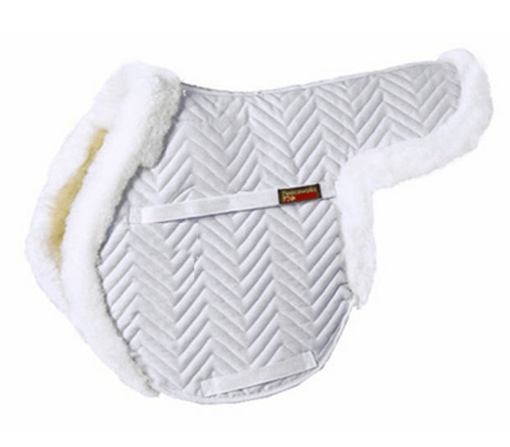 Fleeceworks Sheepskin Show Hunter Partial Trim Pad