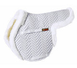 Fleeceworks Sheepskin Show Hunter Partial Trim Pad - North Shore Saddlery