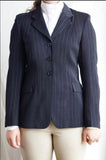 Grand Prix TechLite Classic Sport Show Coat with Pinstripe - SALE - North Shore Saddlery