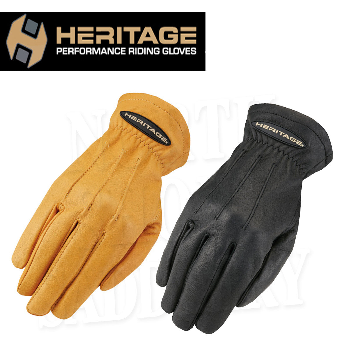 Heritage Leather Trail Gloves - North Shore Saddlery