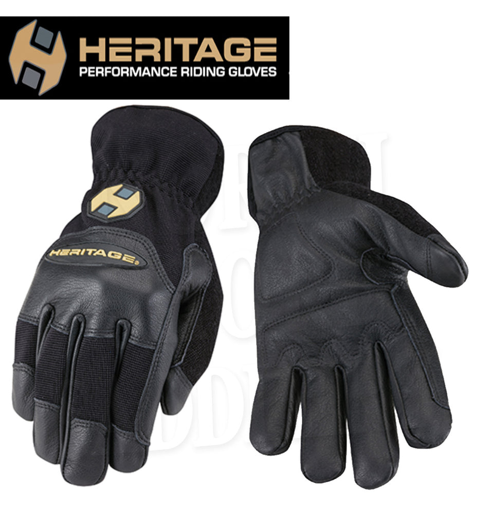 Heritage Trainer Leather Riding Gloves