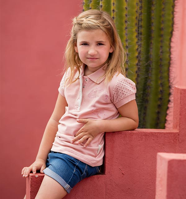 Horseware Girls Pique Polo Shirt - SALE
