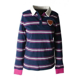 Horseware Juliette Rugby Long Sleeve Polo Shirt - SALE