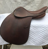 "Crosby Equilibrium DSL Close Contact Saddle 16"" (Used) - North Shore Saddlery"