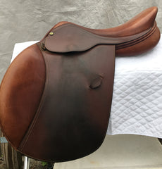 "HDR Pro Close Contact Saddle 16.5"" XL Flap (Used) - North Shore Saddlery"