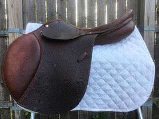 "Pessoa A/O AMS Buffalo Leather Saddle 18"" (Used)"