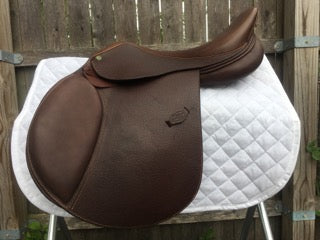 "HDR Pro QH Saddle 17"" (Used) - North Shore Saddlery"