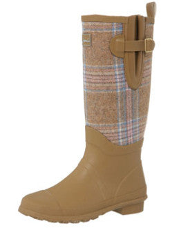 Joules Camelick Tweed Welly Boots - SALE