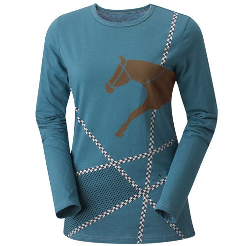Kerrits Finish Line Kids Long Sleeve Shirt - SALE