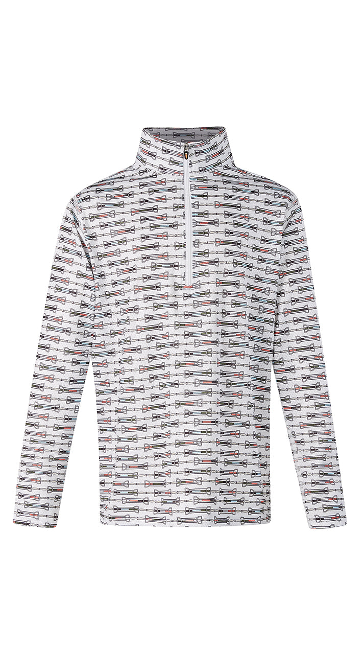 Kerrits Kids Ice Fil Long Sleeve Print Shirt - SALE