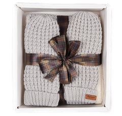 Barbour Fleece Lined Snood & Mitt Set