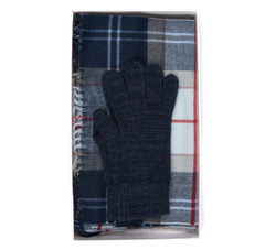 Barbour Hailes Tartan Scarf & Glove Set
