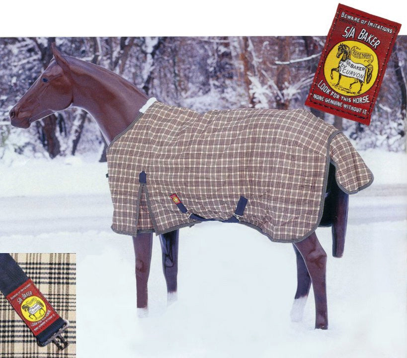 Baker Turnout Blanket - Medium Weight (200 Gram) - North Shore Saddlery