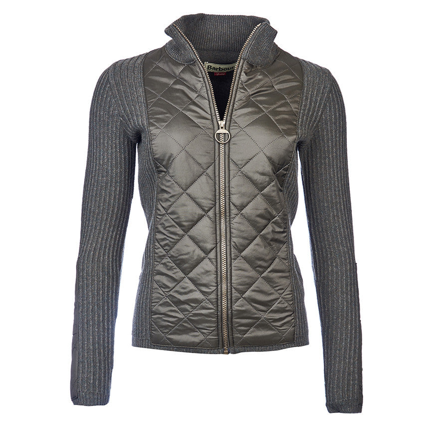 Barbour Sporting Zip Knit Ladies Jacket - SALE - North Shore Saddlery