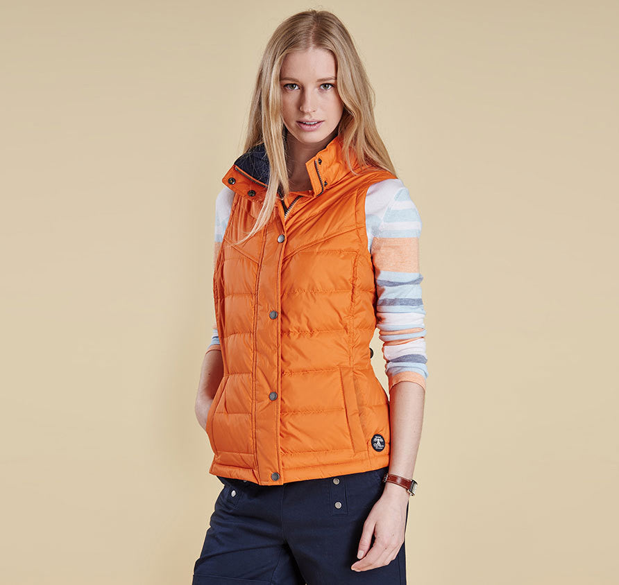 barbour gilet sale