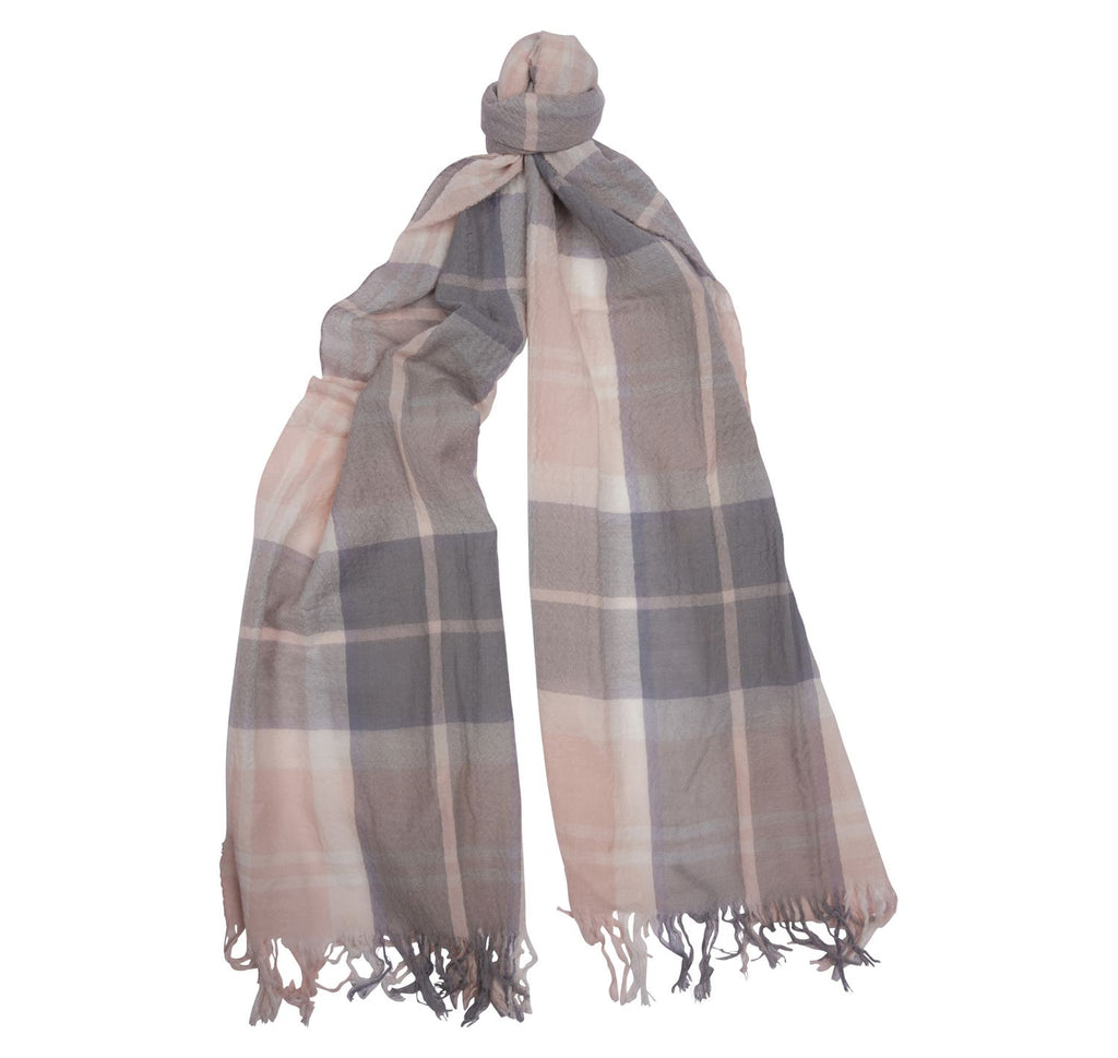 Barbour Summer Tartan Dress Wrap Scarf - SALE