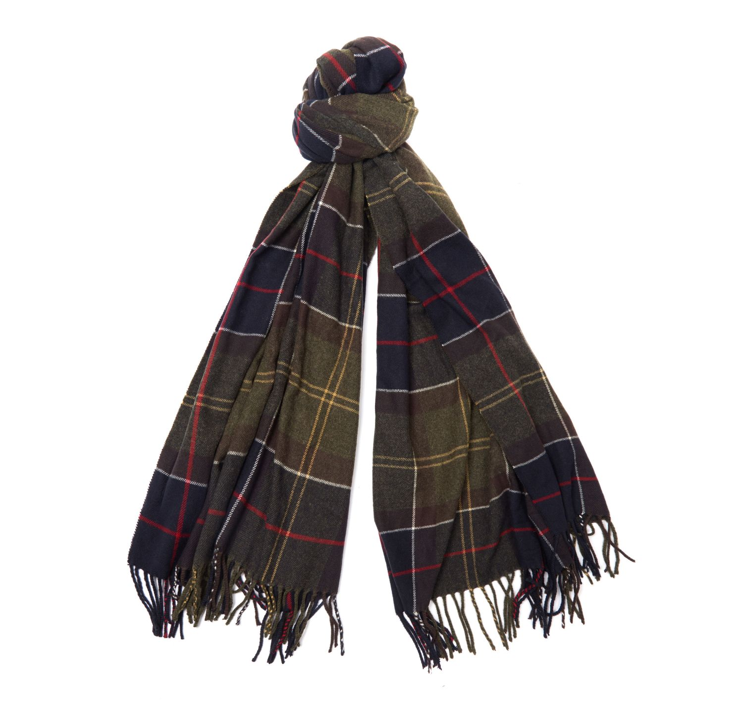 Barbour Hailes Tartan Wrap Scarf - North Shore Saddlery