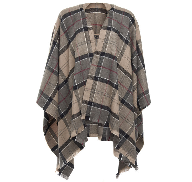 Barbour Staffin Winter Tartan Serape