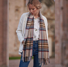 Barbour Lonnen Check Scarf