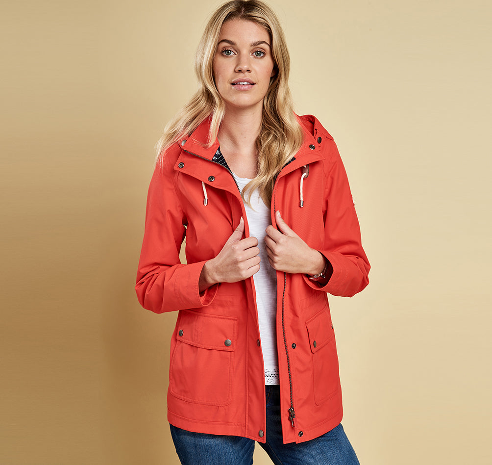 Barbour Hawkins Waterproof Rain Jacket - SALE