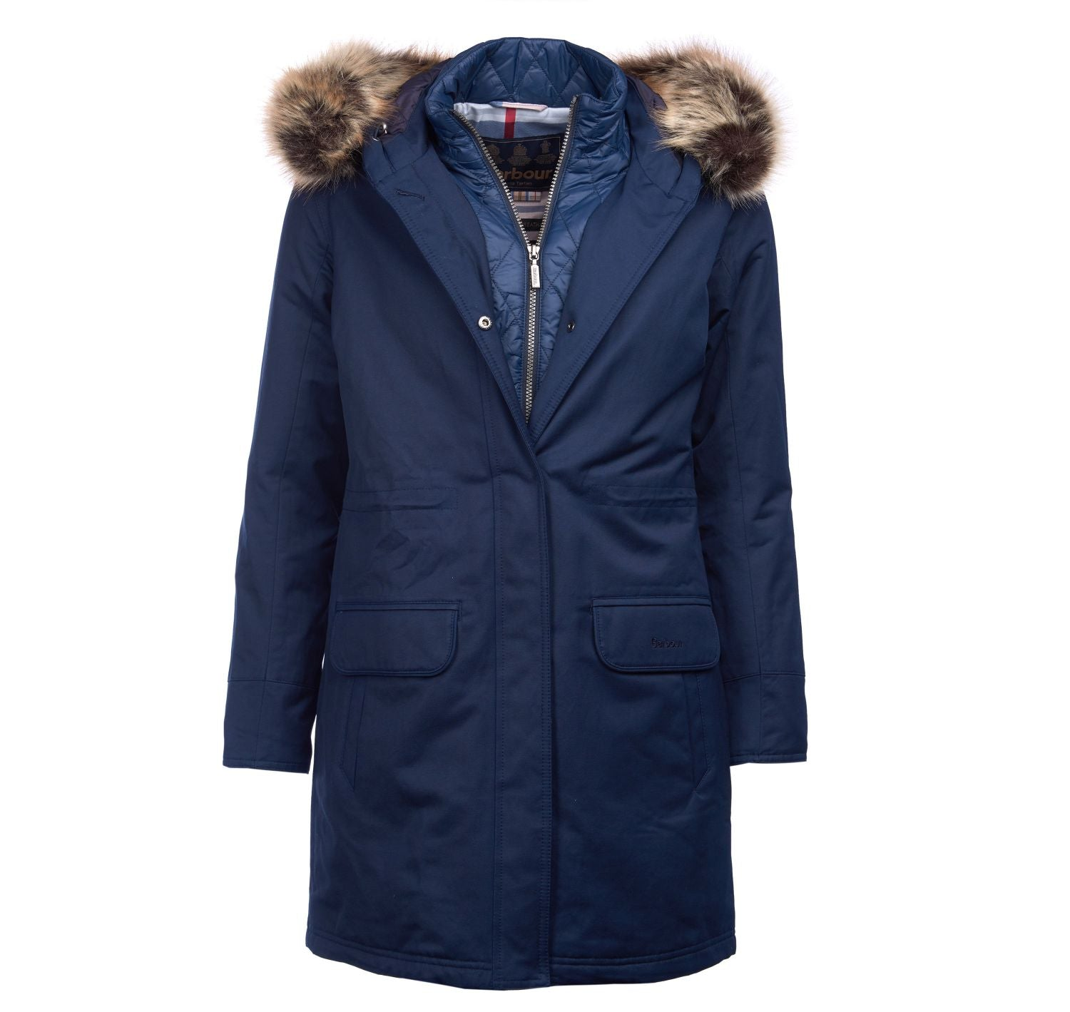 Barbour Argyll Waterproof Breathable Parka Jacket - North Shore Saddlery