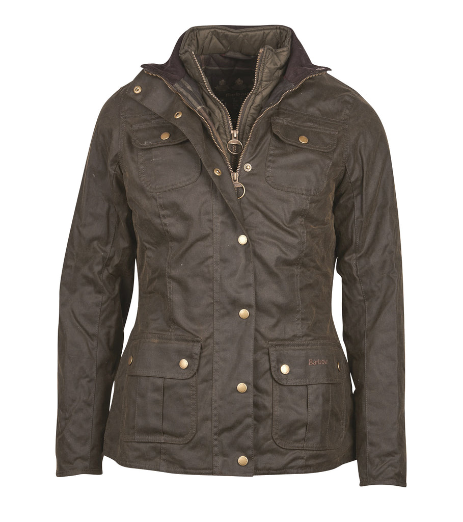 Barbour Ashley Ladies Wax Jacket