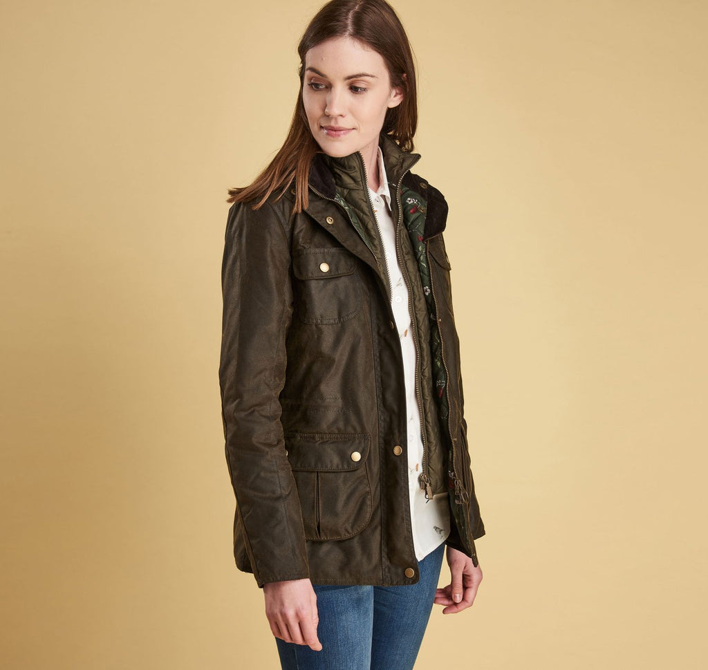 Barbour Chaffinch Waxed Cotton Jacket
