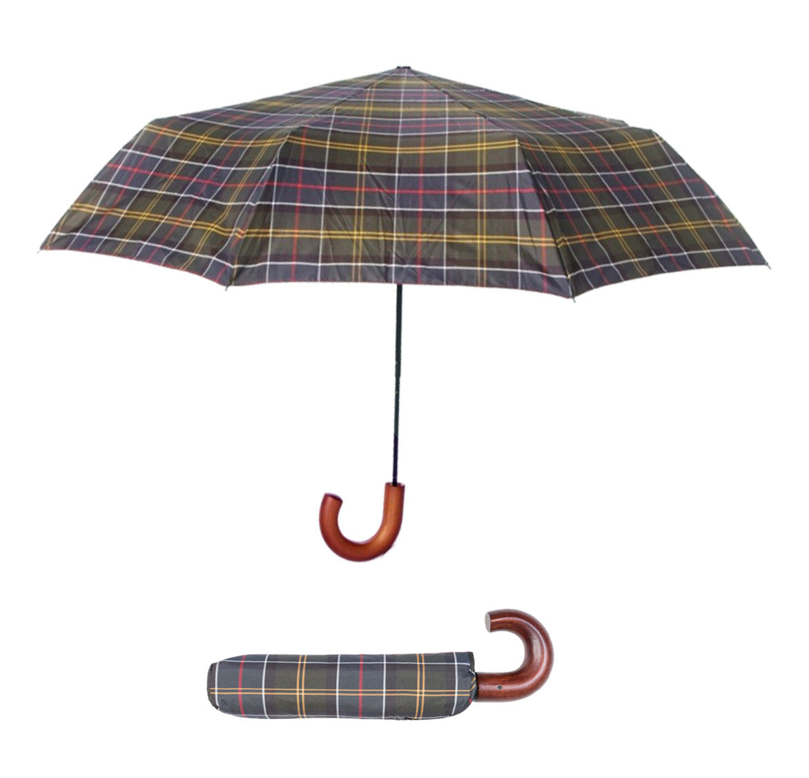 Barbour Telescopic Umbrella - North Shore Saddlery
