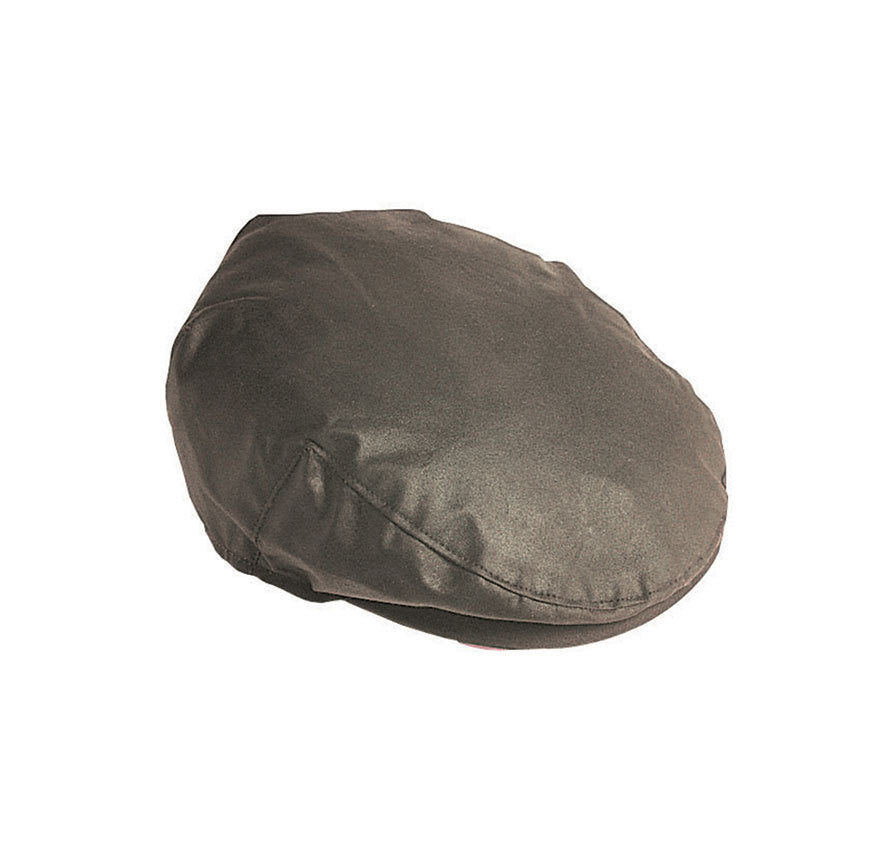 Barbour Sylkoil Wax Flat Cap