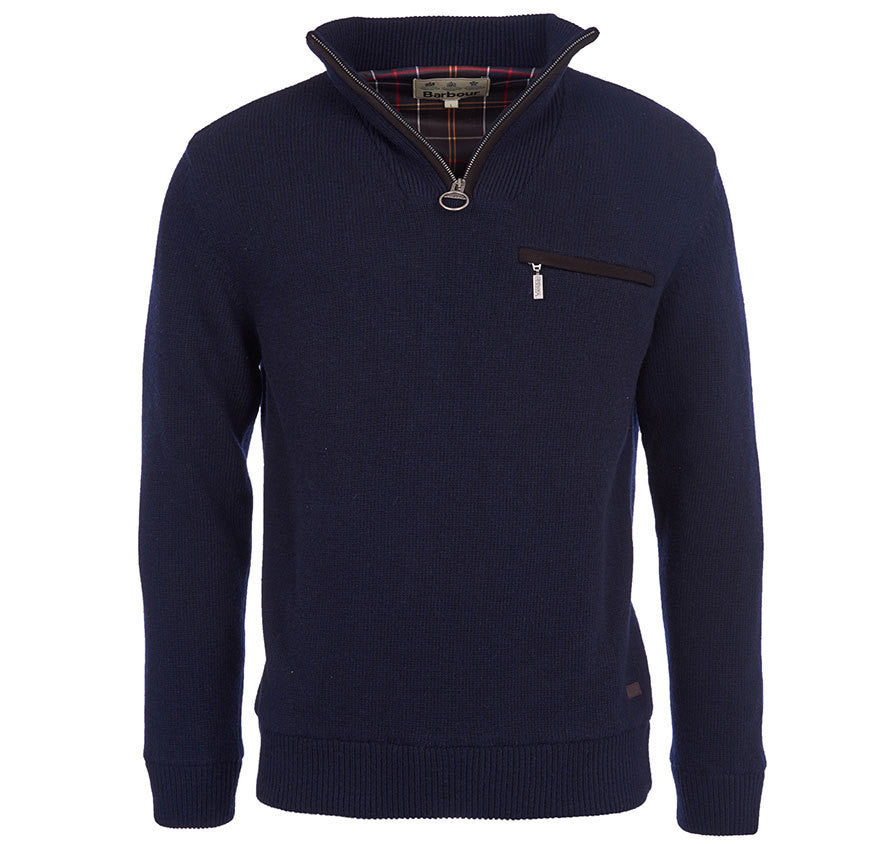 Barbour Ayton Half Zip Sweater - North Shore Saddlery