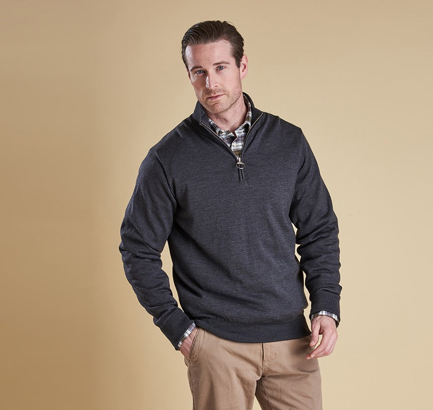 Barbour Gamlin Half Zip Jumper Sweater - SALE
