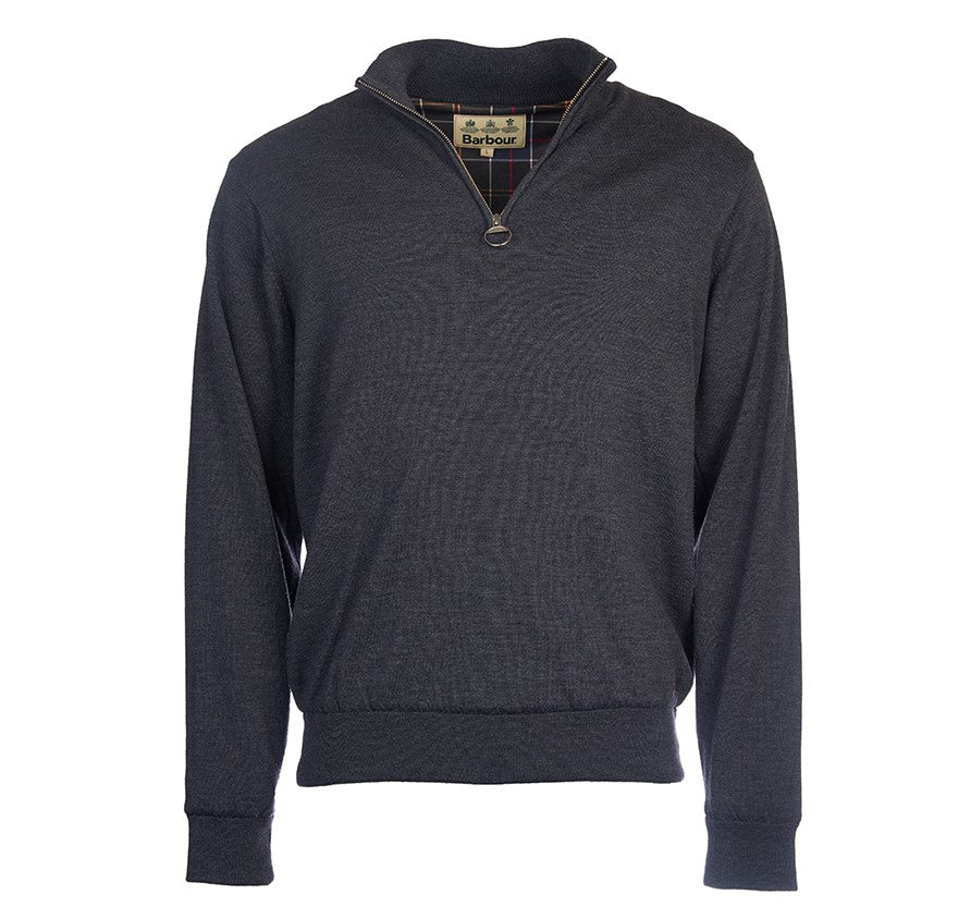 Barbour Gamlin Half Zip Jumper Sweater - SALE - North Shore Saddlery