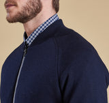 Barbour Becket Zip Through Sweater - SALE