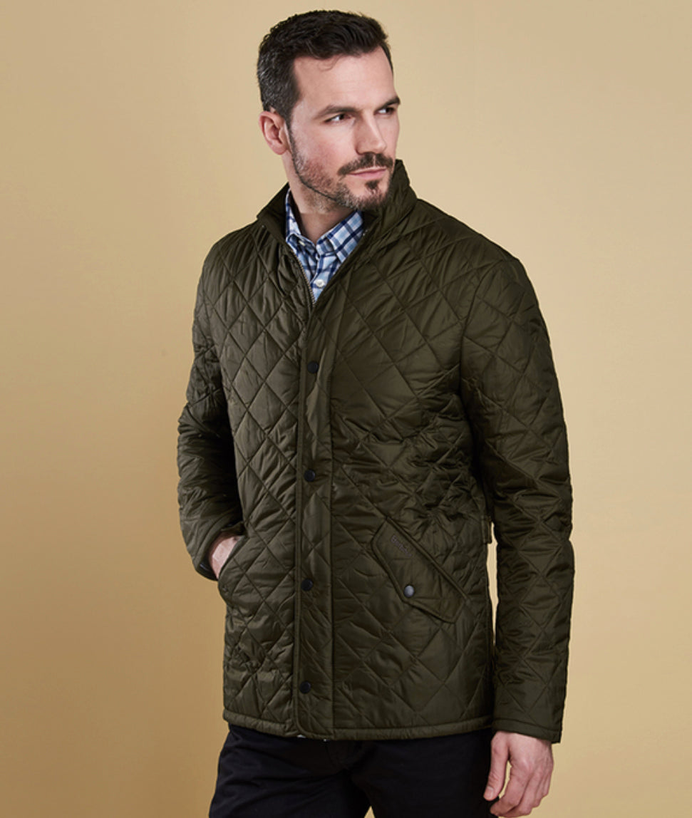 6c26ccdd1ed41 Men's Barbour Flyweight Chelsea Quilted Jacket   North Shore Saddlery