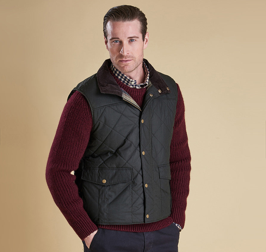Barbour Boxley Men's Quilted Gilet - SALE